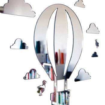 Australian Made Gifts & Souvenirs with the Shatterproof Hot Air Balloon Mirror Set -by Scoops. For the best Australian online shopping for a Fun - 1