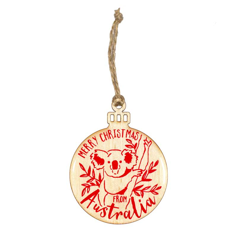 Koala Christmas Decoration Australia