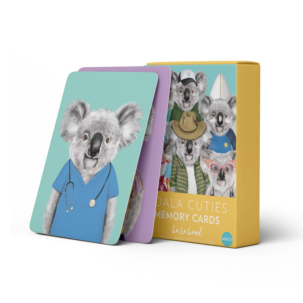Memory Card Game Koala Cuties