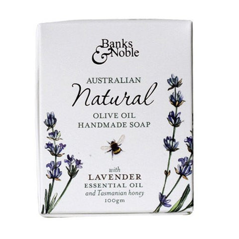 Natural Lavender & Olive Oil Soap