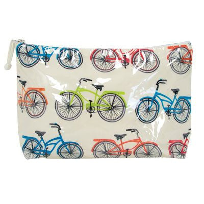 Vintage Bike Toiletry Bags
