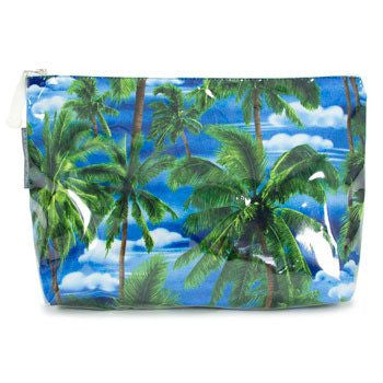 Australian Made Gifts & Souvenirs with the Tropical Trees Toiletry Bag -by Annabel Trends. For the best Australian online shopping for a Beauty