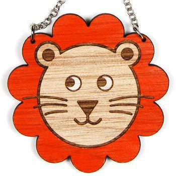 Australian Made Gifts & Souvenirs with the Wooden Lion Necklace -by Scoops. For the best Australian online shopping for a Jewellery