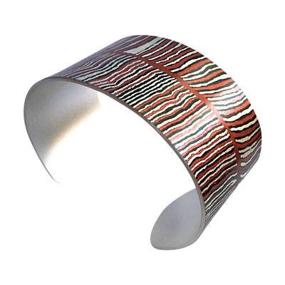 Australian Made Gifts & Souvenirs with the Women's Dreaming Narrow Bracelet Cuff -by Occulture. For the best Australian online shopping for a Jewellery - 1