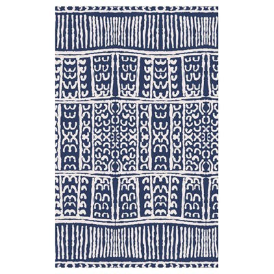 Australian Made Gifts & Souvenirs with the Navy Merino Wool Throw -by Alperstein Designs. For the best Australian online shopping for a Throws - 1