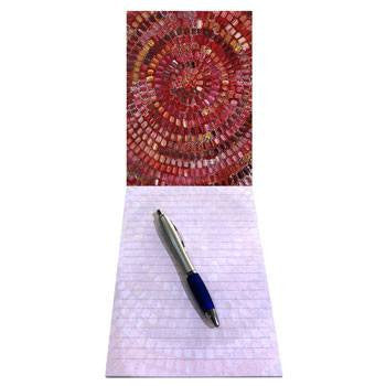 Australian Made Gifts & Souvenirs with the A5 Notepad Artist Janelle Stockman -by Utopia. For the best Australian online shopping for a Note Pads - 1
