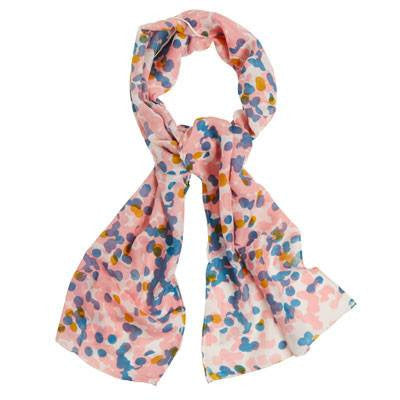 Australian Made Gifts & Souvenirs with the Long Floral Silk Wool Scarf -by Tinker. For the best Australian online shopping for a Scarves