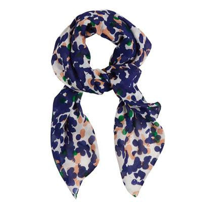 Australian Made Gifts & Souvenirs with the Square Confetti Silk Wool Scarf -by Tinker. For the best Australian online shopping for a Scarves