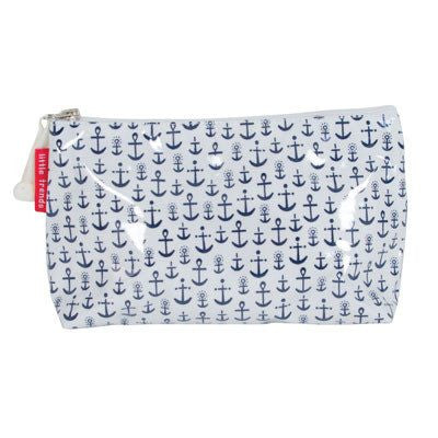 Australian Made Gifts & Souvenirs with the Small Anchor Toiletry Bag -by Annabel Trends. For the best Australian online shopping for a Bags