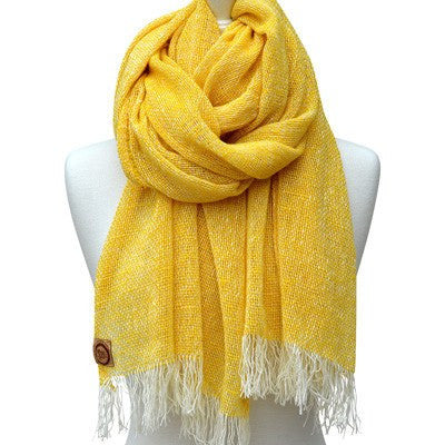 Australian Made Gifts & Souvenirs with the Sun Merino Loose Weave Scarf -by The Spotted Quoll. For the best Australian online shopping for a Scarves