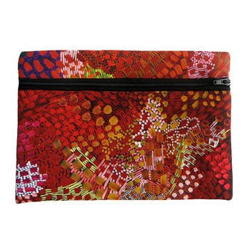 Australian Made Gifts & Souvenirs with the Zipped Case - Artist Janelle Stockman -by Utopia. For the best Australian online shopping for a Note Pads