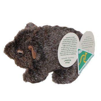 Australian Made Gifts & Souvenirs with the Bruce Hairy Nose Wombat -by Jozzies. For the best Australian online shopping for a Soft Toys - 3