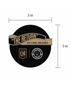 7/23/20 LAFC TAILGATE KIT + COLLAB PATCH