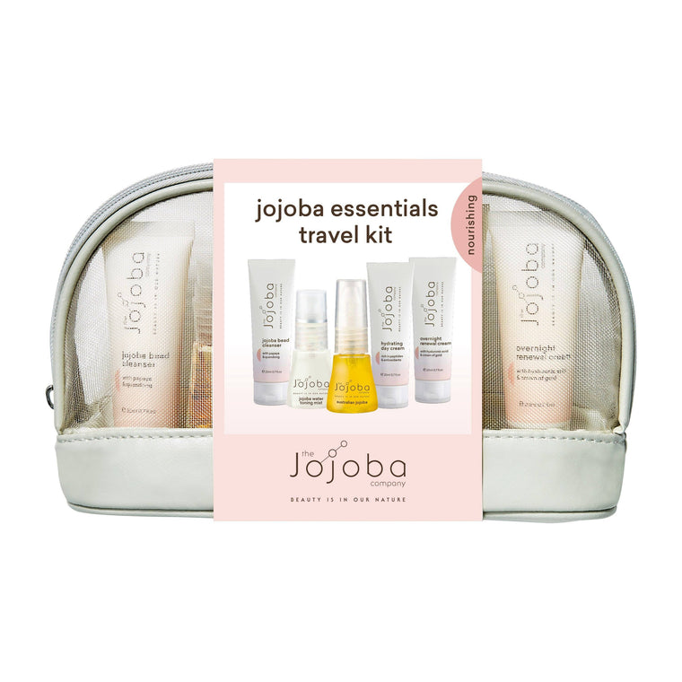 jojoba essentials travel kit