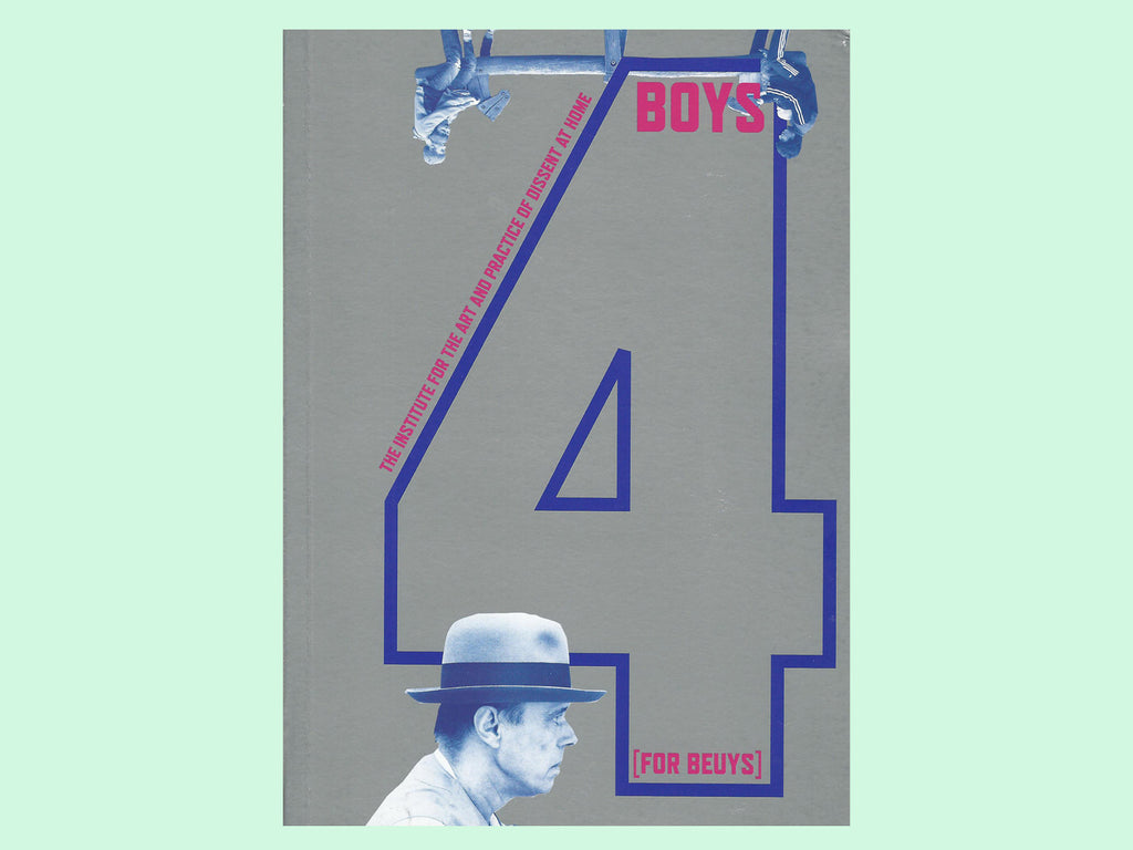 4 Boys [For Beuys] - Book Cover