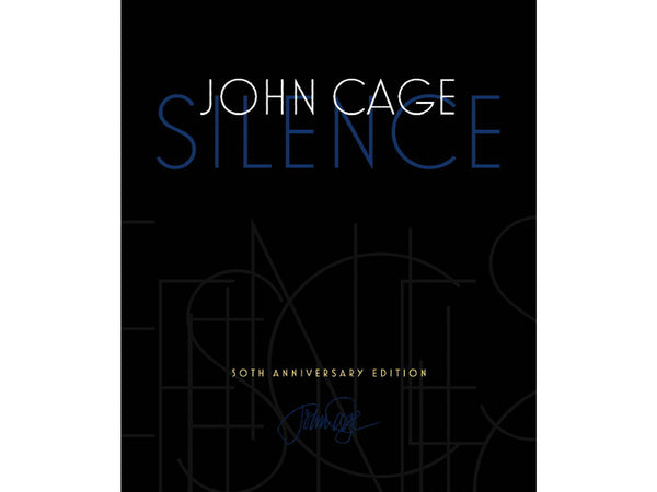 the cover of silence by john cage