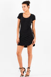 Kaira Tee Dress in Black