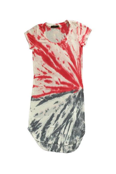 Kaira Tee Dress in Poppy Sunrise Wash - Saint Grace