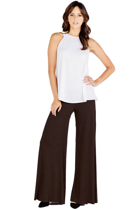 Classic Carol Pants in Espresso - Saint Grace
