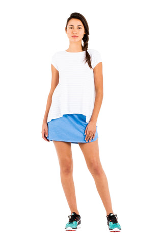 Jess Mini Skirt in Crete - Saint Grace