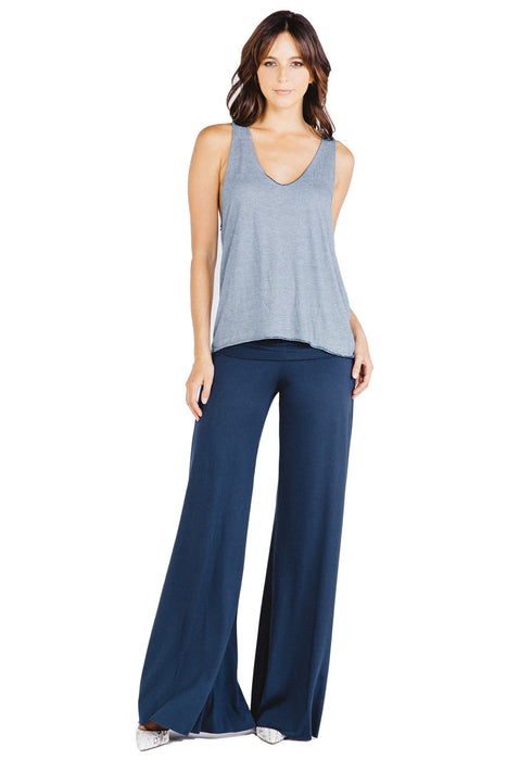 Carol Wide Pants in Liberty - Saint Grace