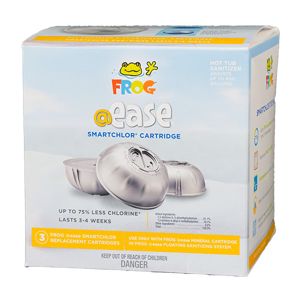 Spa Frog @Ease SmartChlor Floating System Cartridges 3 Pack