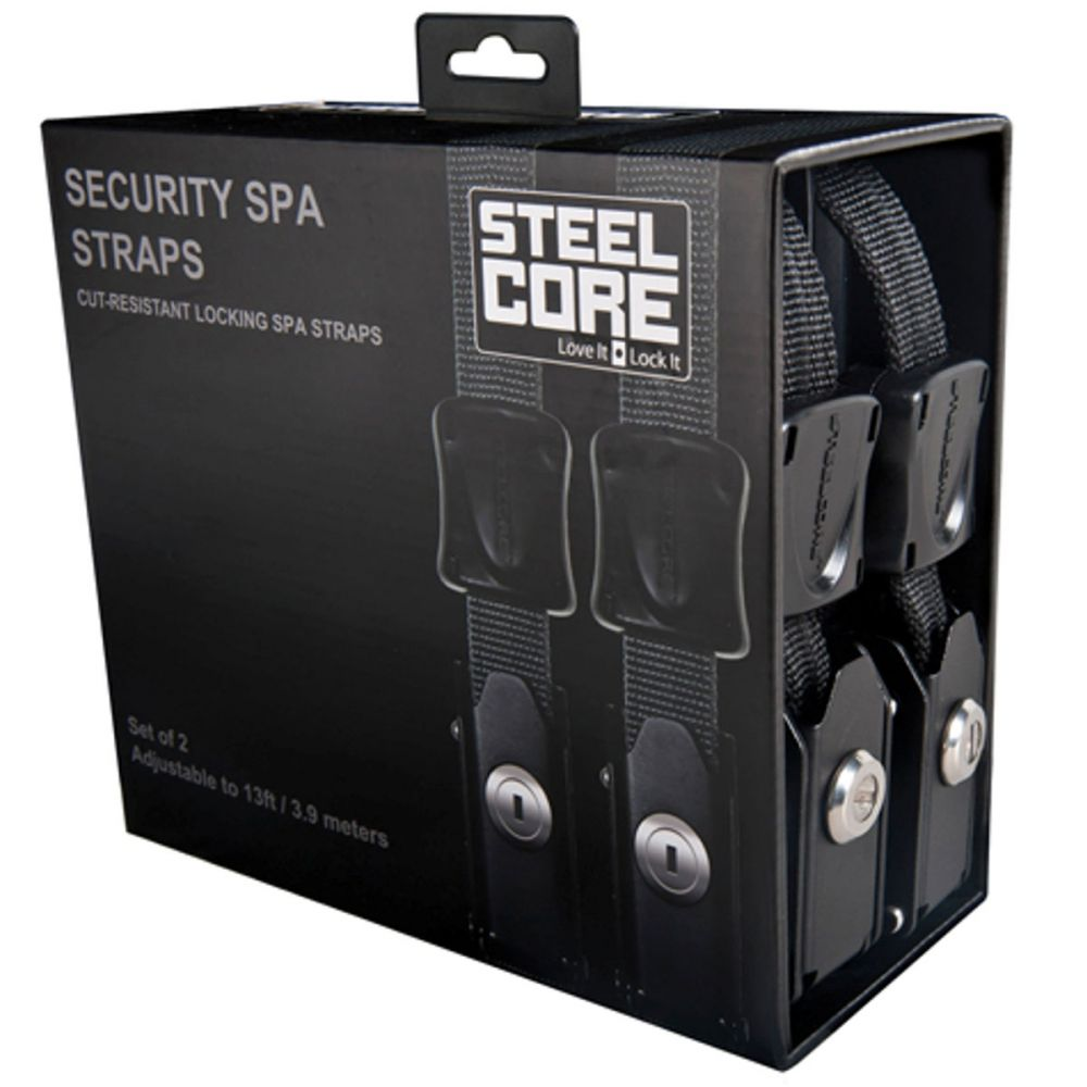 Steel Core Security Spa Straps