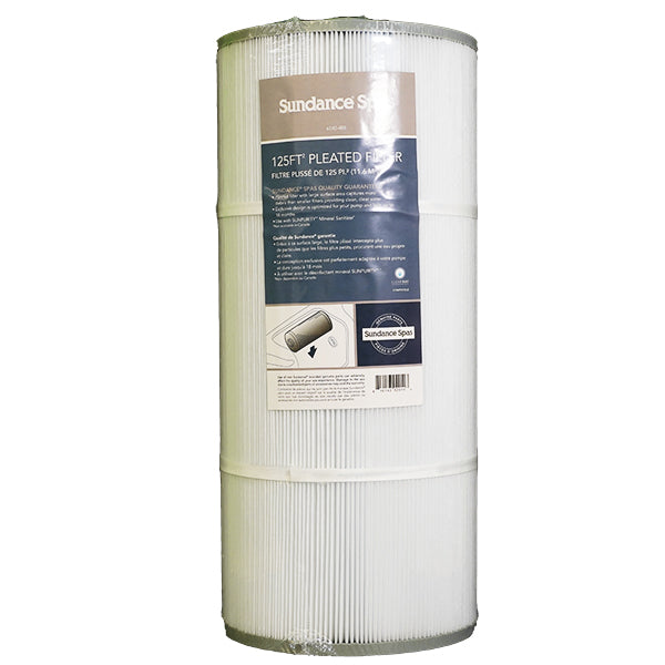 Sundance Spas 780 & 880 125 Sq. Ft. Pleated Filter