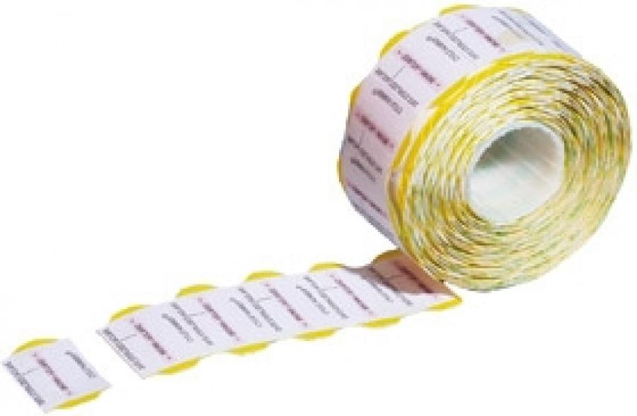 MEDITRAX PROCESS INDICATOR LABELS ROLL OF 700