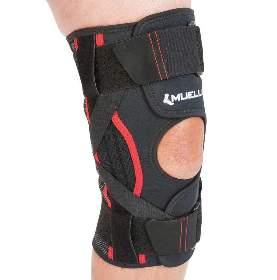 MUE5217 OMNIFORCE ADJUSTABLE ELASTIC KNEE STABILISER WITH ALLOY STAYS FOR MEDIAL-LATERAL SUPPORT