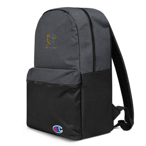 *GM X Champion Embroider Backpack*