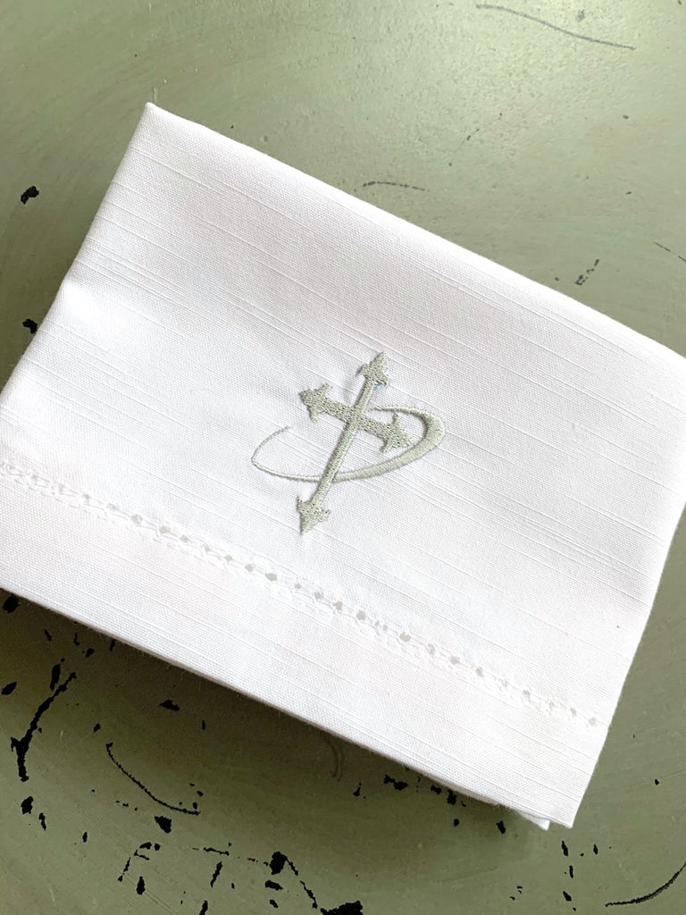 Custom Communion Cloths, Bread Plate Napkins, Corporal Fold