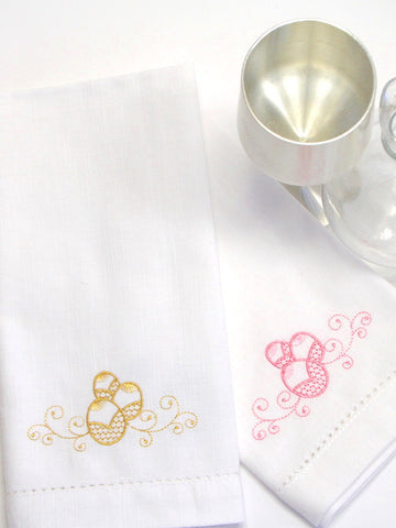 Easter egg cloth napkins, easter egg napkins, easter cloth napkins