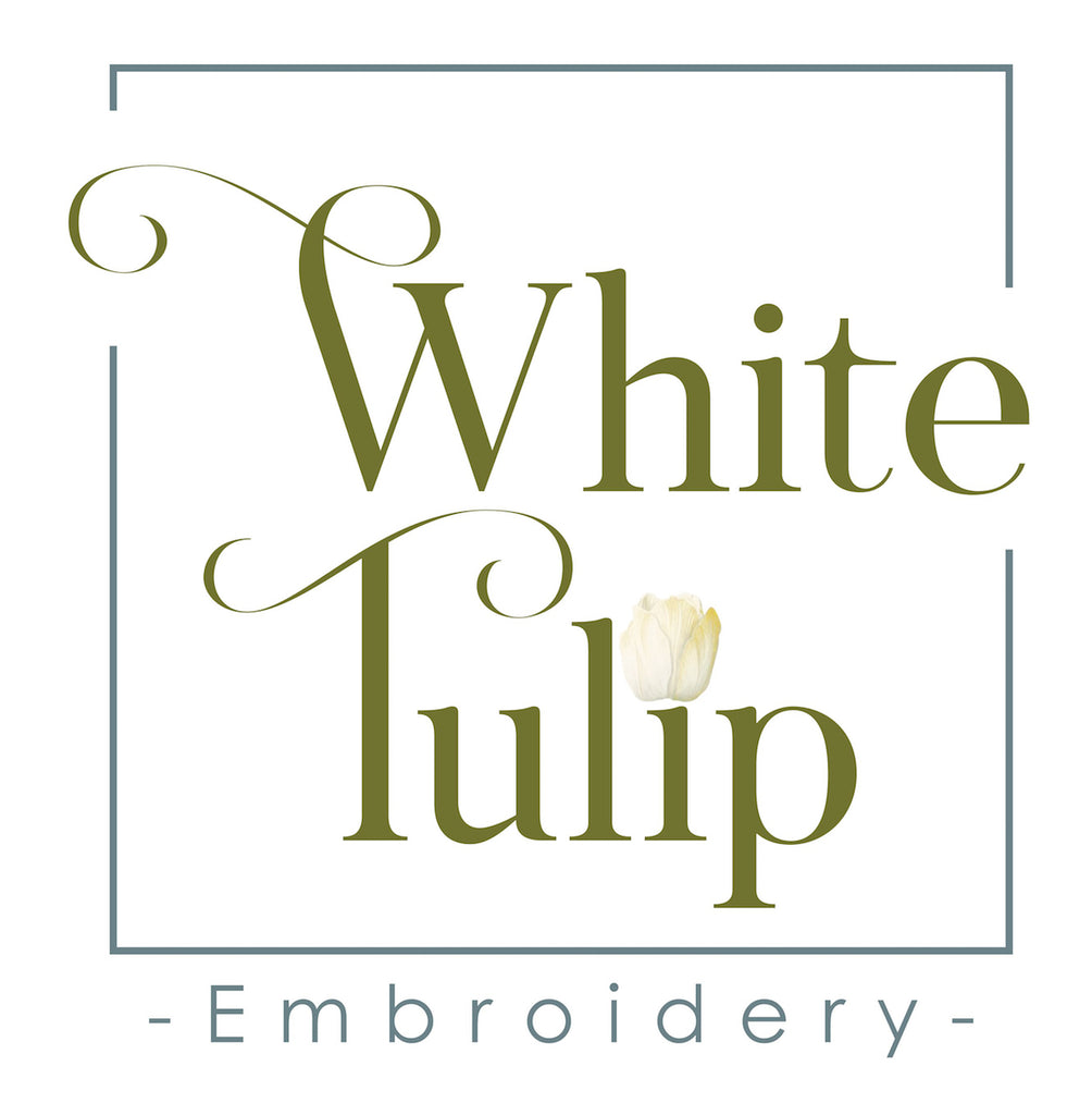 Custom order - Sailboat-White Tulip Embroidery