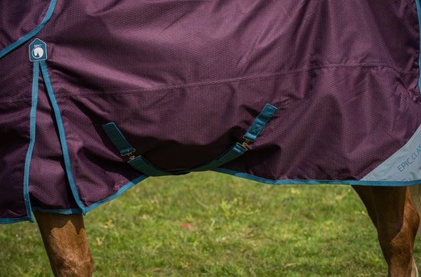 Epic® Classic No Fill Turnout Rug  -  Broad Fit