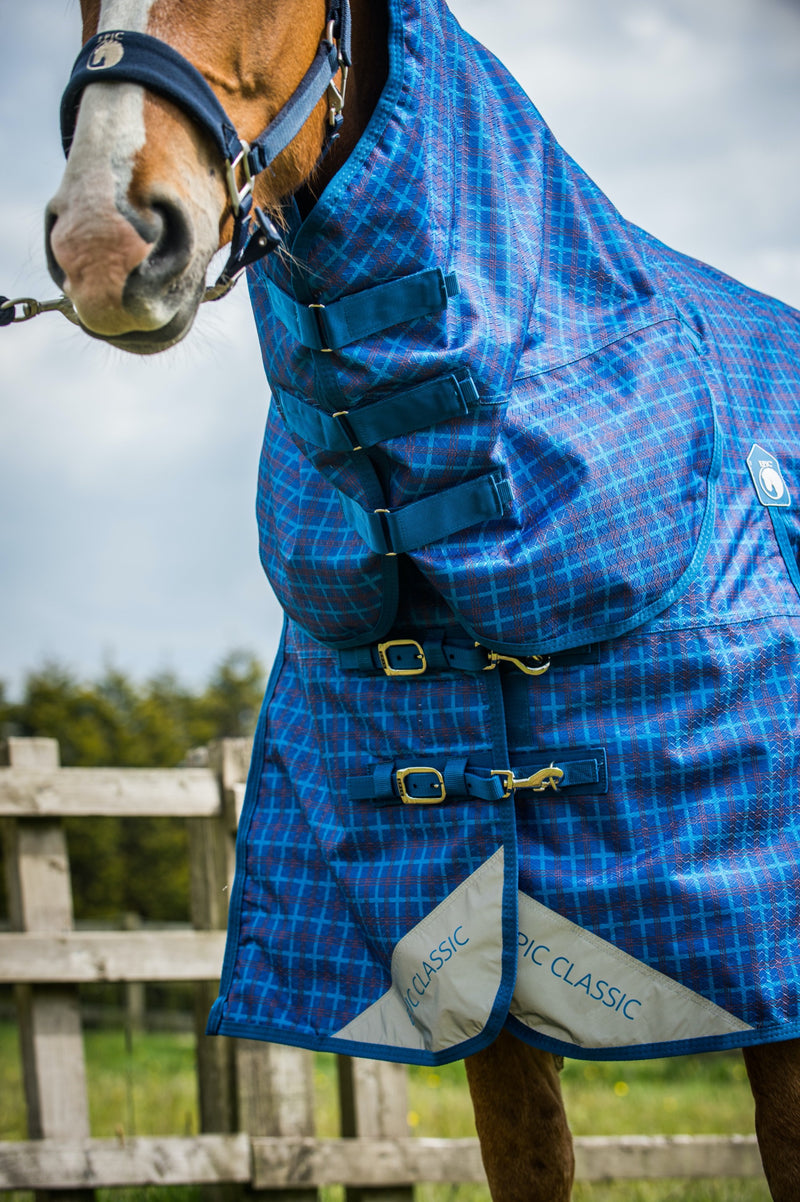 Epic® Classic 100g Combo Turnout Rug -  Broad Fit