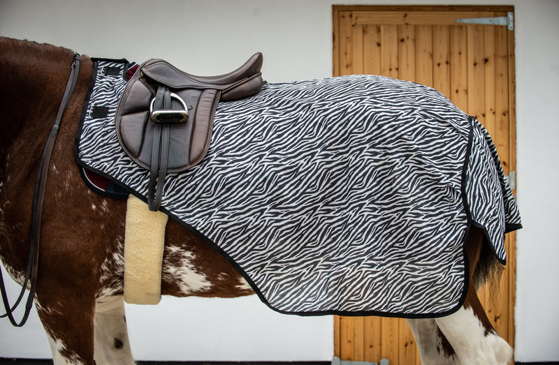 Epic® Classic Zebra Ride-On Fly Sheet - Broad Fit