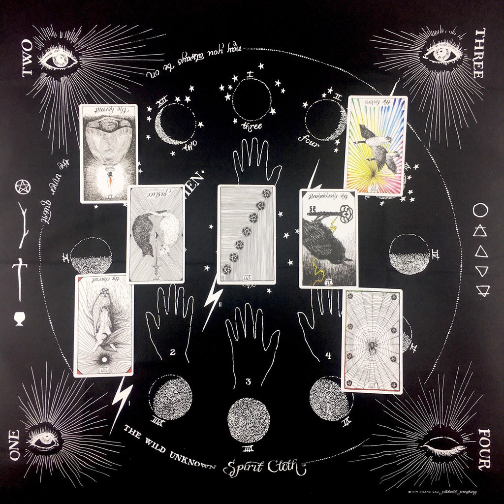 Virgo Full Moon Tarot Spread
