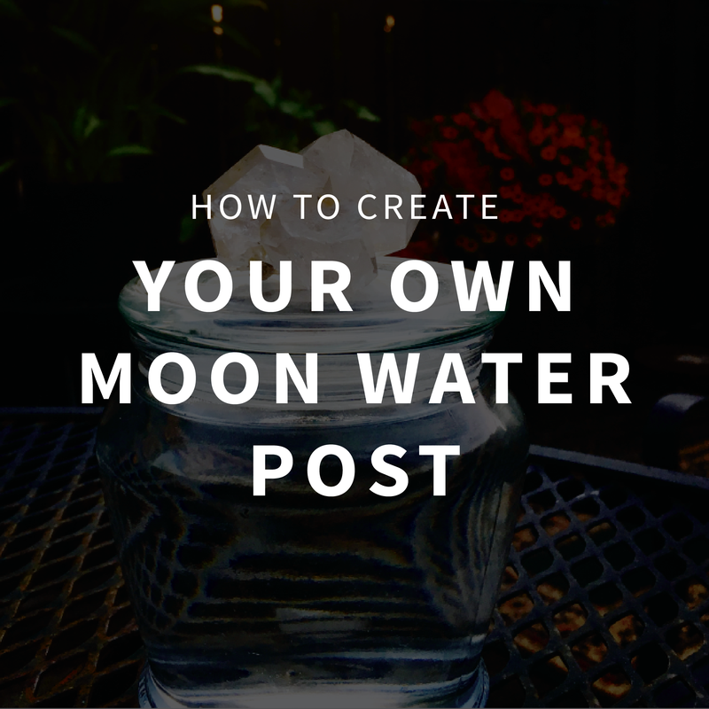 How to create your own moon water post