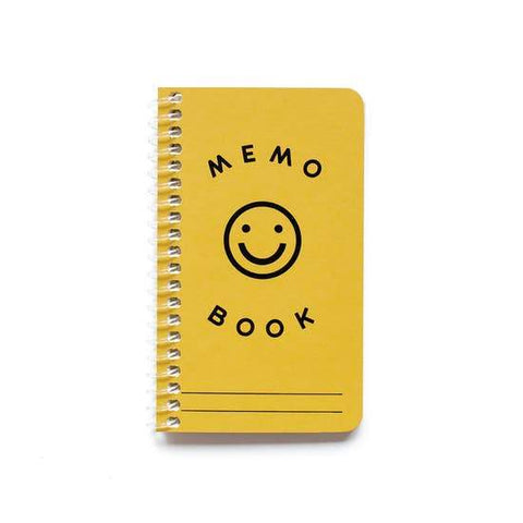 Yellow Memo Pad With Smile
