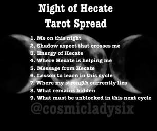 New Moon in Scorpio: Embracing self love through the Night of Hecate