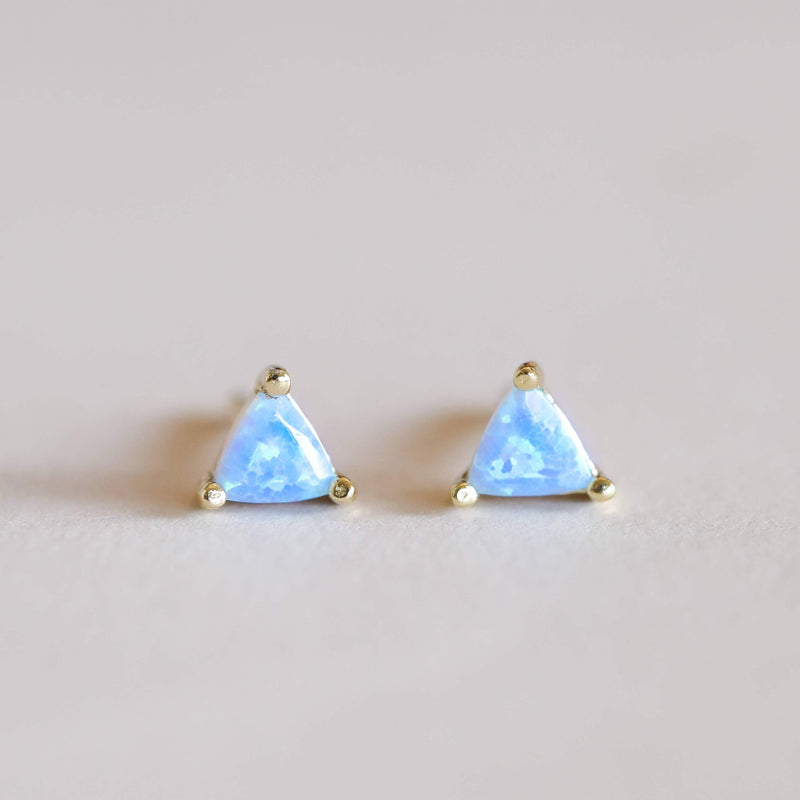 OPAL MINI ENERGY GEM STUD EARRINGS