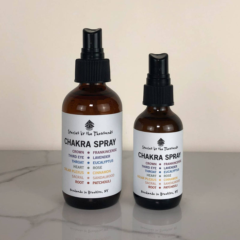 Species by the Thousands - 2 oz Chakra Spray