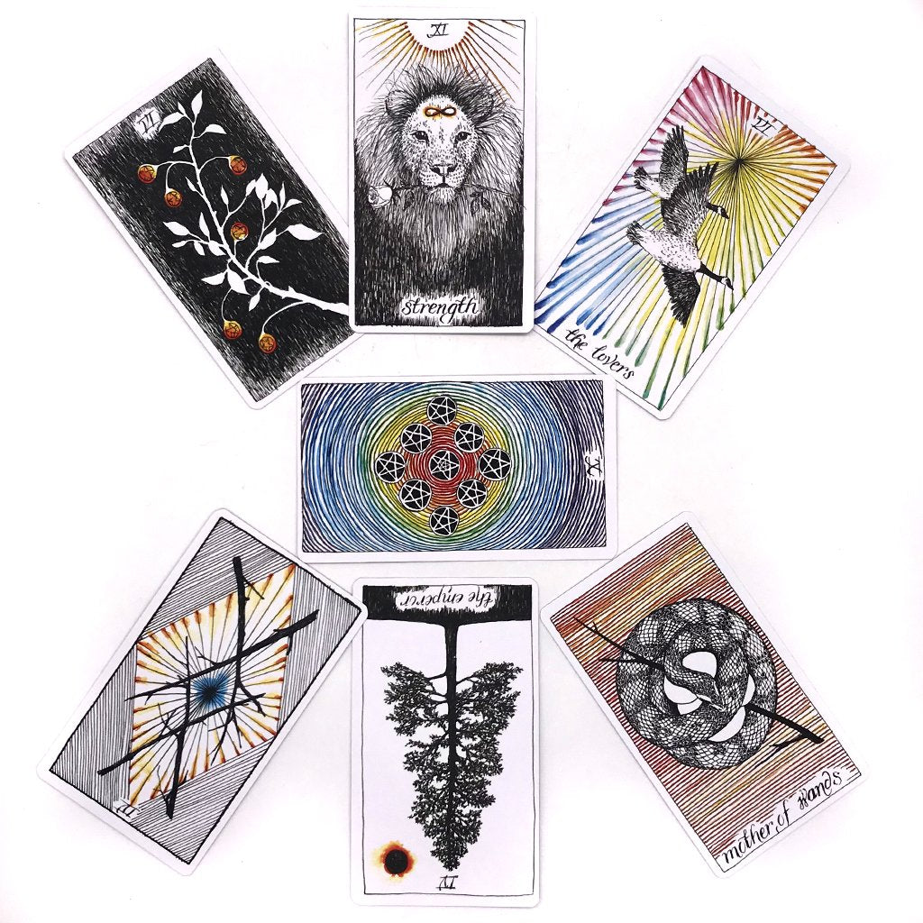 WILD UNKNOWN TAROT DECK + GUIDEBOOK BOX SET