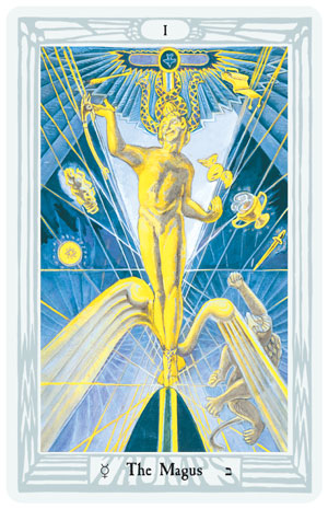 THOTH PREMIERE EDITION TAROT DECK & BOOKLET