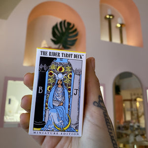MINI RIDER WAITE TAROT DECK