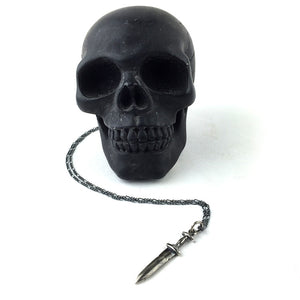 DAGGER CHARM NECKLACE silver