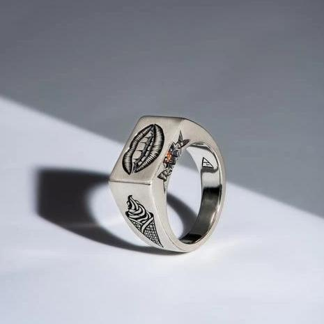 Taste - 5 Senses Signet Ring