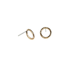 Eternity Stud Earrings - Gold