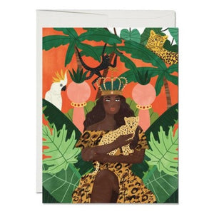 QUEEN OF LIFE | GREETING CARD